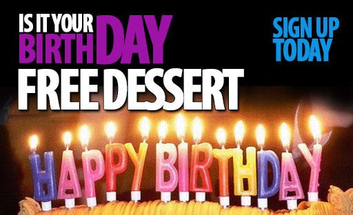 Free Birthday Gift!